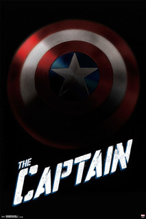 Captain America The Captain Movie Poster 24x36