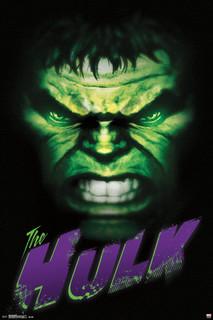 The Hulk Comic Book Art Poster 24x36