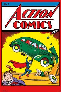 Action Comics 1 Comic Book Poster 24x36
