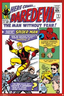 Daredevil 1 Comic Book Poster 24x36