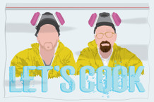 Lets Cook Minimalist TV Show Poster 12x18