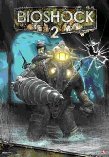 BioShock 2 Lenticular 3-D Poster - 17x11