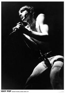 Iggy Pop London 1977 Music Poster 23.5x33