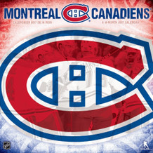 Montreal Canadiens 2017 16 Month Mini Calendrier Calendar 7x7