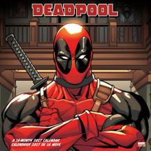 Deadpool 2017 16 Month Mini Calendar 7x7