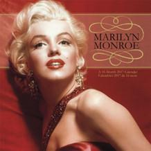 Marilyn Monroe Bilingual 2017 16 Month Wall Calendrier Calendar 12x12