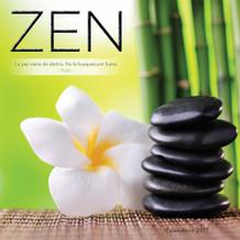 Zen Spanish 2017 16 Month Wall Calendar 12x12