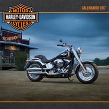 Harley Davidson Spanish 2017 16 Month Wall Calendar 12x12