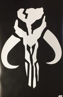 Star Wars Mandalore Logo Movie Poster 22x34