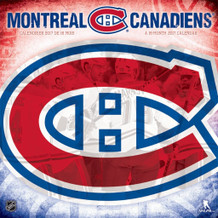 Montreal Canadiens 2017 16 Month Wall Calendrier Calendar 12.5x12.5