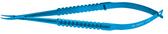 Castroviejo Needle holder; Delicate Jaws 9 mm; Curved, Titanium