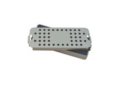 Aluminum Sterilization Tray Small ALC Size 7'' x 2'' x 0.75'' (CalTray A1100)
