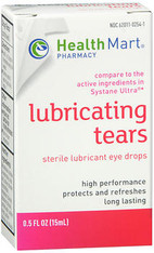HM LUBRICATING TEARS EYE DROPS ULTRA 0.5OZ