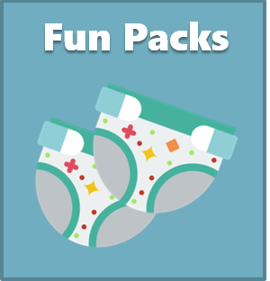 Shop Diaper Fun Packs