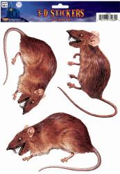Rat 3 D Cling