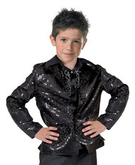Disco Jacket Child Black Mediu