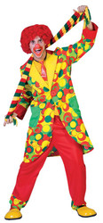 Bubbles Clown Adult Small