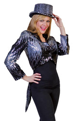 Glitter Tailcoat Silver Medium