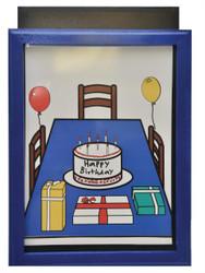 Birthday Surprise Art Insert