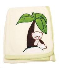Blanket Baby Bear Lalunar
