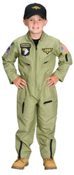 Fighter Pilot Child Large 8-10