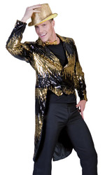 Glitter Tailcoat Gold Large