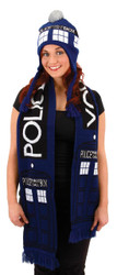 Doctor Who Tardis Laplandr Hat