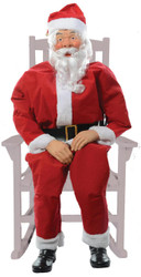 Rocking Chair Santa Boxed