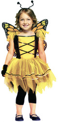 Ballerina Butterfly Gld 3t-4t