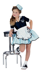 Car Hop Girl Child Costume Sm