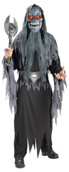 Evil Eye Skull Costume Std