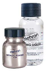 Metallic Silver Liquid Powder