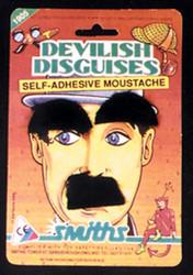 Chaplin Brow Mustache Black