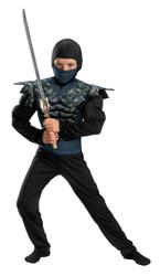 Night Camo Ninja Child 10-12