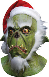 Green Santa Latex Mask
