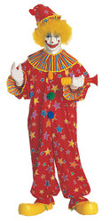 Clown Costume Jumpsuit Adult