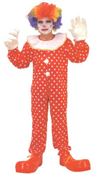 Clown Costume Dlx Child Large