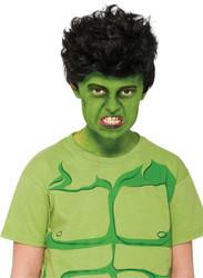 Hulk Wig Child