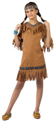 American Indian Girl Child Lg