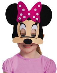 Minnie Mouse Pink Felt Mask