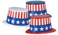 Plastic Toppers Patriotic 25