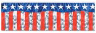 Stars Stripes Fringe Banner