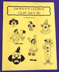 Deweys Clown Clip Art No 1