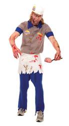 Zombie Zone Brain Brg Adlt Lg