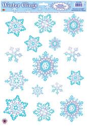 Crystal Snowflake Clings