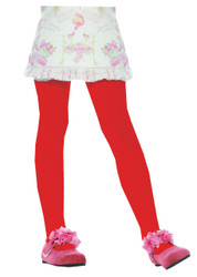 Tights Child Red Xlrg 11 To 13