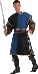 Medieval Tabard Blue Black