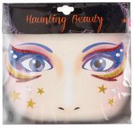 Eye Wear Decals Blue Gold Star