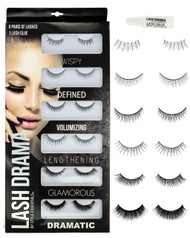 Eye Lashes Set 6 Pair