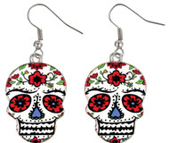 Earrings Day Of Dead